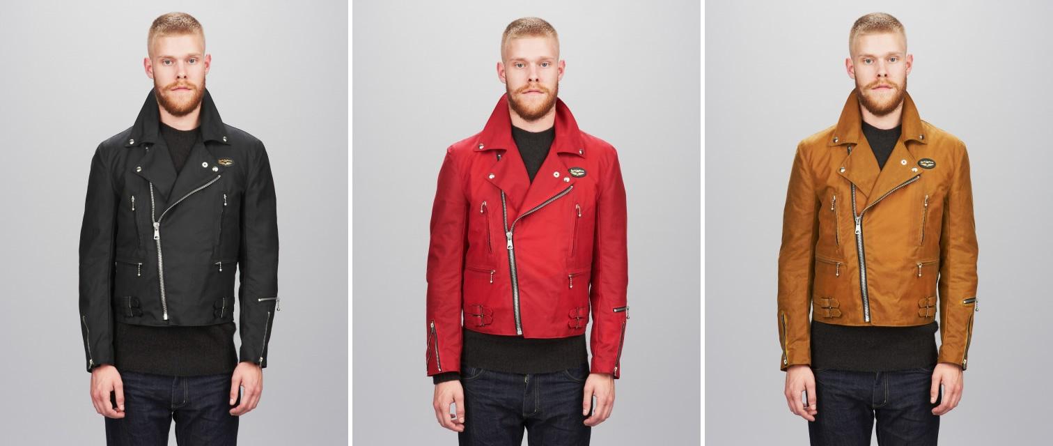 Lighting Jacket: YMC X Lewis Leathers.