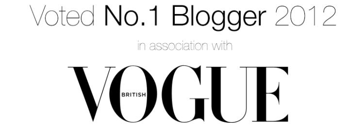 Vogue Online Fashion 100 2012